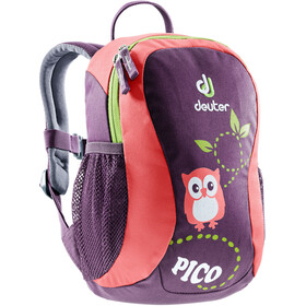Deuter Pico Sac à dos Kit, Large Enfant, plum-coral